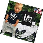 Toddler Kids Baby Boy T-shirt Tops+Casual Long Pants