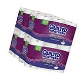 Toilet Paper Quilted Northern Ultra Plush Double Rolls 48 Count Bathroom Hygiene