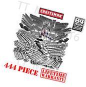 Craftsman tools 444 pc Mechanics Tool Set wrenches sockets