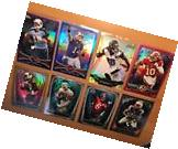 Topps Chrome Football Numbered Refractor Lot Gold /50 +