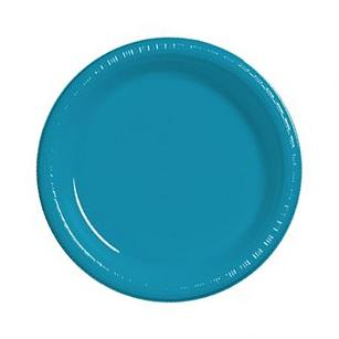 Touch Of Color 20 Count 7 Heavy Duty Plastic Plates Classic
