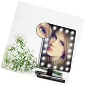 Touch 10x Magnifying 20 LED Lighted Makeup Mirror Portable