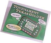 NEW Tournament Texas Hold' Em Electronic Handheld Game Limit