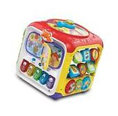 Baby Toy Activity Cube Toddler Infant Developmental Learning