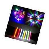 Light Up My Party Toy 180 Pcs LED Glow in the Dark Favor