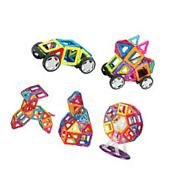 Childrens Toy Magnetic Building Blocks 66 piece Set Wheel