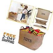 Toy Box Storage Organizer Kid Baby Collapsible Bin Laundry