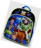"Disney Toy Story Black/Blue  Boys 10""  Small Backpack Woddy"