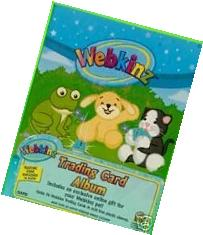 Webkinz Accessories Trading Card Album holds 96 trading