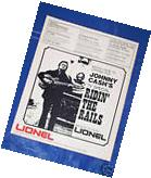 LIONEL TRAIN 1976 CATALOG advertising JOHNNY CASH TV Guitar