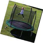 Trampoline Combo W/Spring Pad Round Bounce Jump Safety