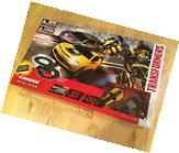 NEW TRANSFORMERS CARRERA SLOT CAR RACING SYSTEM WITH BUMBLEBEE & LOCKDOWN 63000