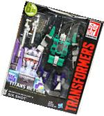 Transformers Titans Return Six Shot & Revolver Leader Class