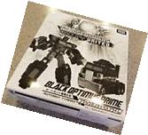 Transformers United Tokyo Toy Show Black Optimus Prime NEW