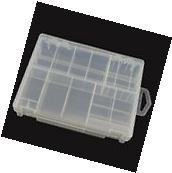 Honbay Transparent Battery Organizer, Hard Plastic Battery Storage Case/Box/Orga