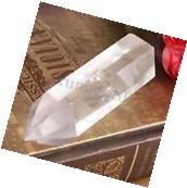 New Hot Natural Transparent Clear Quartz Crystal BT Wand
