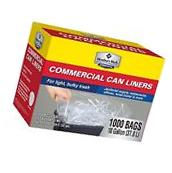 New Box of 1000 Trash Bags ProForce Commercial 7 - 10 gallon