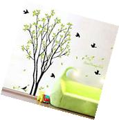 Tree Bird Removable Vinyl Quote Wall Sticker Decal Mural DIY