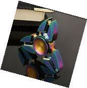 Tri-Spinner Pliers Rainbow Zinc Alloy EDC Hand Spinner