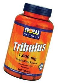 Now Sports Tribulus 1000 - 180 ct