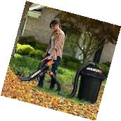 Worx Trivac Blower Mulcher and Vacuum with Leaf Pro