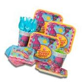 Trolls Birthday Party Supplies For 8 Guest Plates Cups Forks