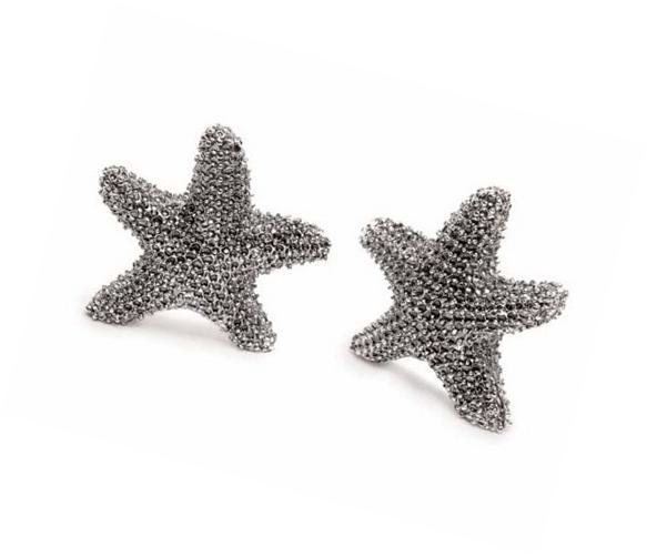 Mud Pie Starfish Miniature Salt and Pepper Shakers