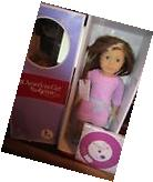 NEW AMERICAN GIRL TRULY ME Doll: Fair Skin,caramel hair blue