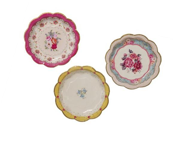 Talking Tables Truly Scrumptious Tea Party Plates for Parties  for New