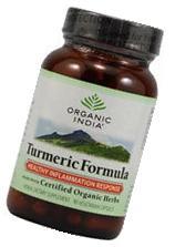 Organic India Turmeric Formula 90 vegcaps