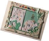 New 5-pc Turquoise Baby Variety Gift Layette Box Set Elegant