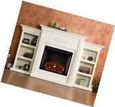 TV Stand With Fireplace Entertainment Center Electric Heater