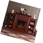TV Stand Entertainment Center Media Storage Bookcase With