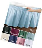 """TWIN FULL SIZE WRAP AROUND 14"""" DROP BED SKIRT DUST RUFFLE"""