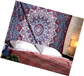 Twin Hippie Indian Tapestry Floral Mandala Throw Boho