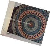 Twin Indian Mandala Bedspread Tapestry Wall Hanging Hippie