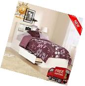 Twin Size Storage Bed With Headboard White Drawers Kids