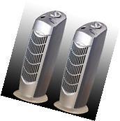 TWO NEW PRO IONIC FRESH BREEZE AIR PURIFIER IONIZER UV