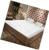 """10"""" Two Layer Queen Size Traditional Firm Memory Foam"""