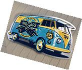 LARGE Two Roads Brewing Volkswagen Bus Tin Craft Beer Sign