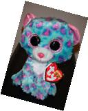 """Ty Beanie Boos - SYDNEY the 6"""" Claires Exclusive Leopard ~"""