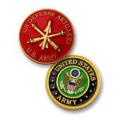 U.S. Army / Air Defense Artillery Challenge Coin