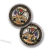 U.S. Army / Core Values - Brass Challenge Coin