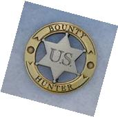U.S. Bounty Hunter Old West Replica Lawman Badge Deputy
