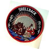U.S. Navy Shellback Squadron Equator Patch 4 1/2