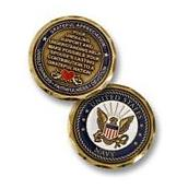 NEW U.S. Navy Spouse Challenge Coin. 61041