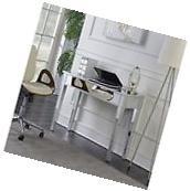 Convenience Concepts U12-124 Gold Coast Mirrored Desk Vanity