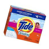 Tide Ultra with Touch of Downy Powder Detergent-April Fresh-