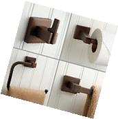 Signature Hardware Ultra 4 Piece Bathroom Accessory Set in