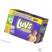 Luvs Ultra Leakguards Diapers, Size 5 140 Count  27 lbs